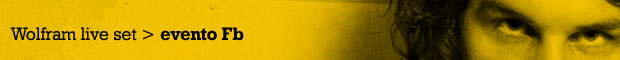 facebbok evento live set di wolfram salerno lumen